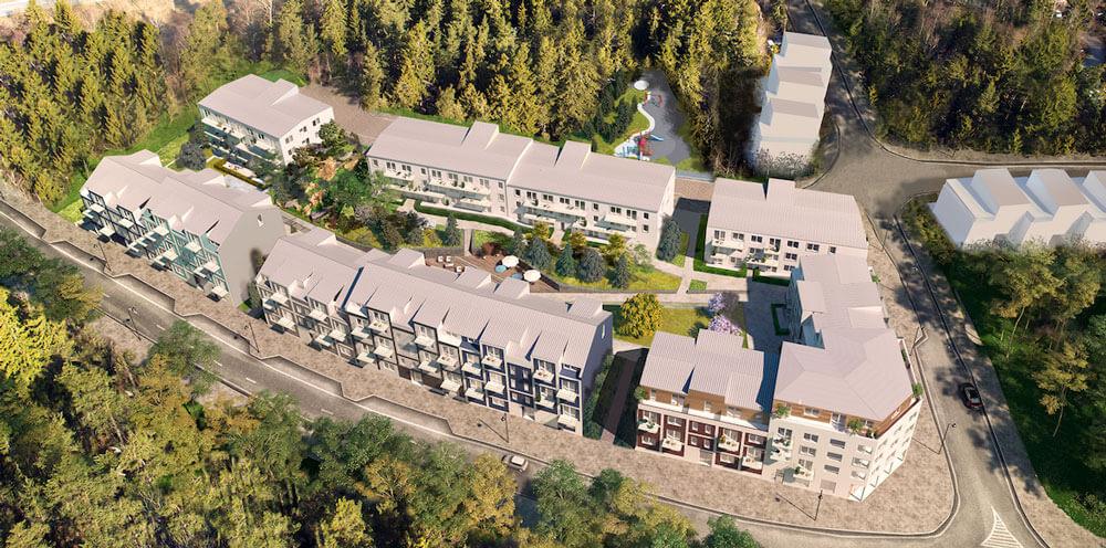 Sollentuna Hills - ett nyproduktionsprojekt i Sollentuna av SSM,