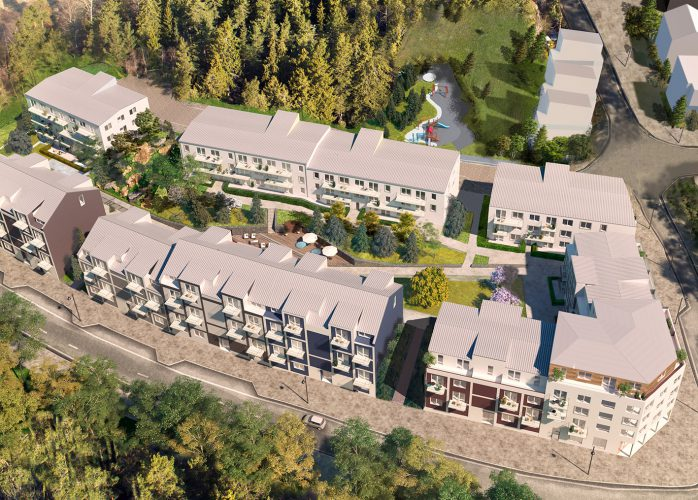 SSM nyproduktion, bostadsrätter i Sollentuna översikt