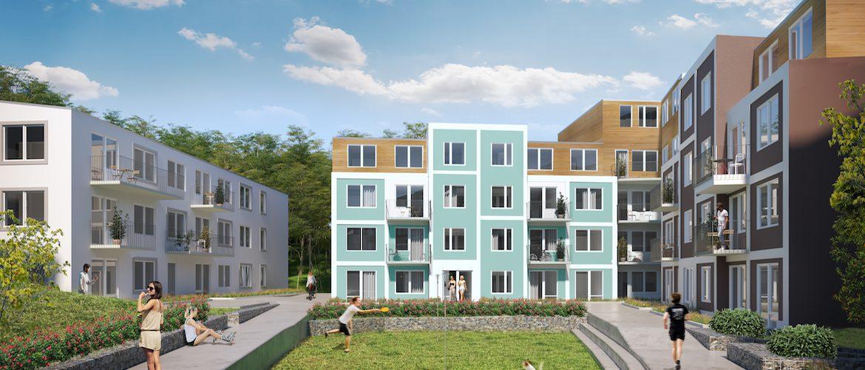 SSM nyproduktion, bostadsrätter i Sollentuna