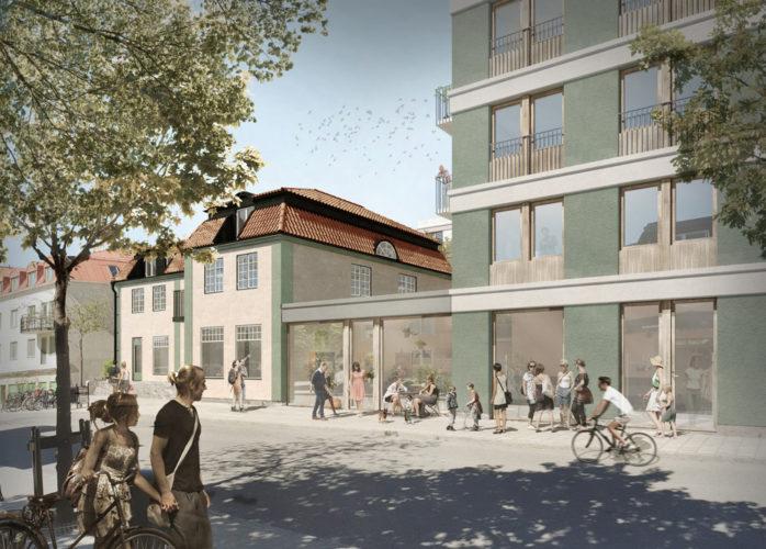 SSM nyproduktion i Spånga, Spånga Studios