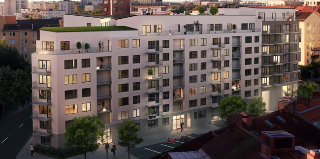 SSM nyproduktion i Solna/Sunbyberg, West Side Solna